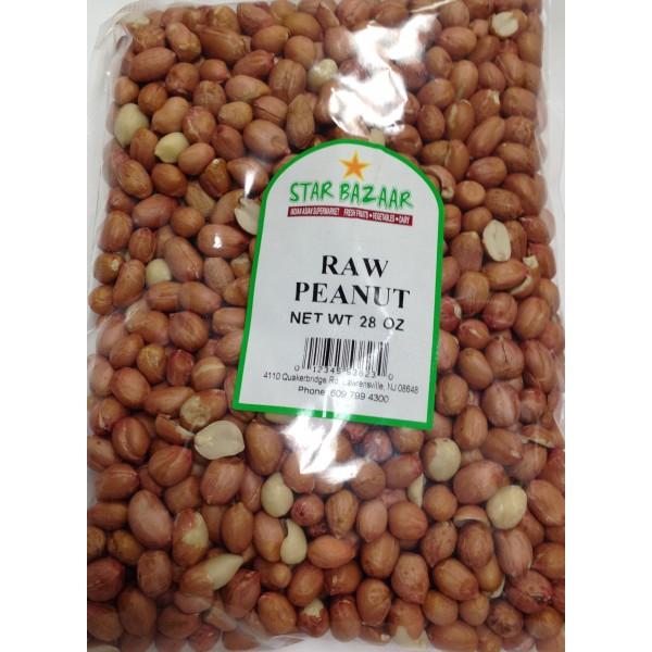 Big Bazaar/ Star Bazaar  Raw Peanuts 28 OZ / 794 Gms