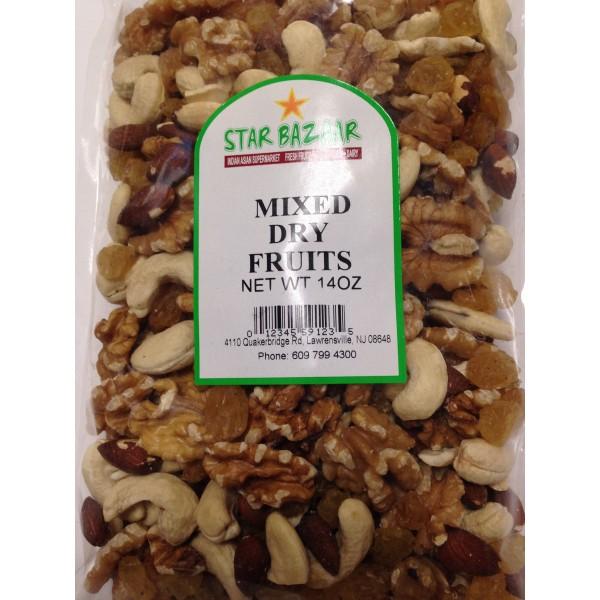 Big Bazaar /Star Bazaar  Mixed Dry Fruits 14 OZ / 397 Gms