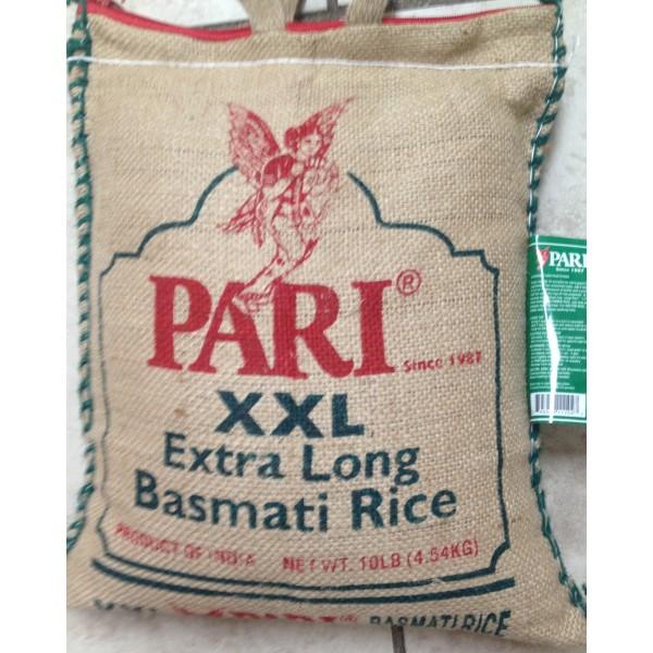 Pari Exra Long Basmati Rice 10 LB / 4.5 KG