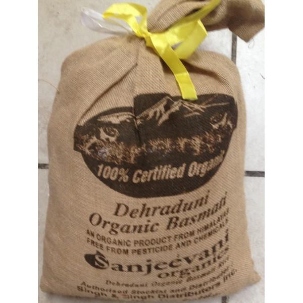 Sanjeevani Dehraduni Organic Basmati 10 LB / 4.5 KG