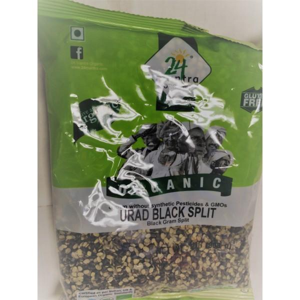 24 Mantra Organic Urad Black Split 2 LB / 907 Gms