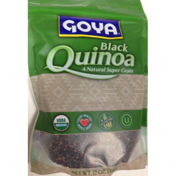 Goya Black Quinoa 12 OZ / 340 Gms