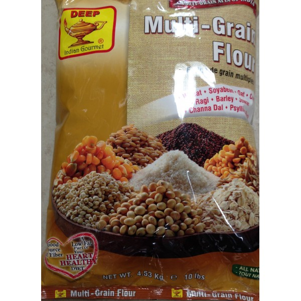 Deep Multi-Grain Flour 10 LB / 4.5 KG