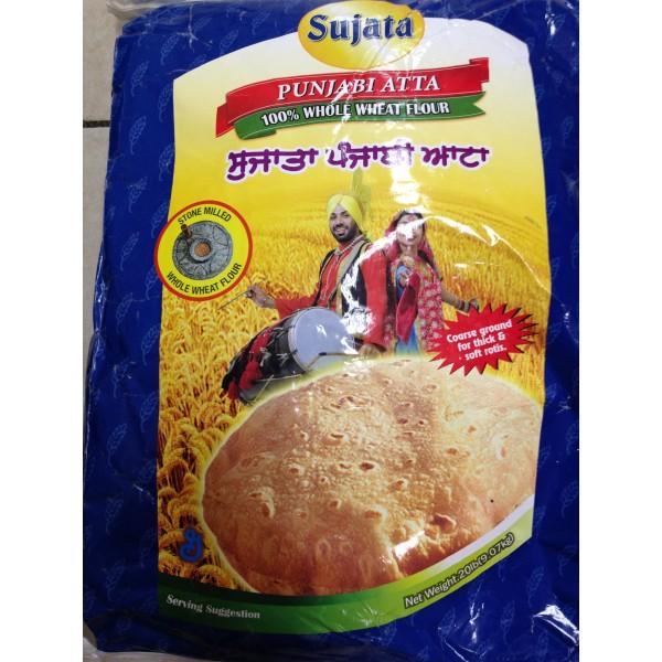 Sujata Punjabi Atta 20 LB / 9 KG