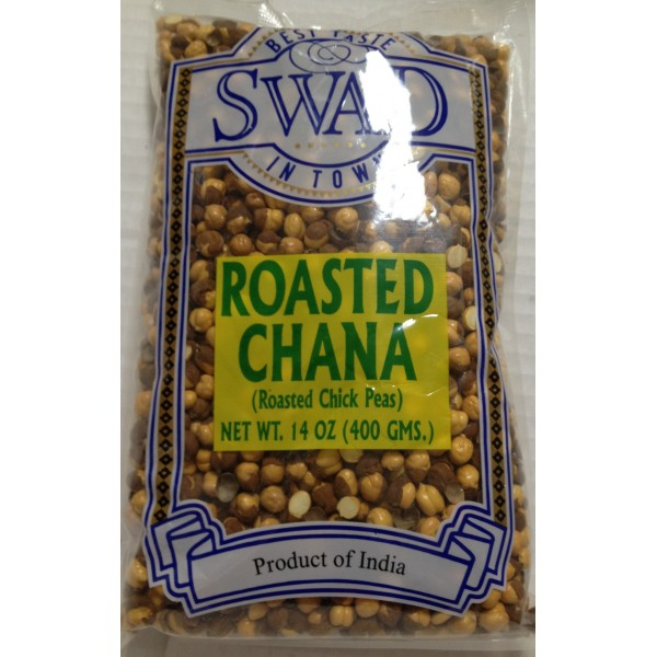 Swad Roasted Chana 14 Oz / 400 Gms
