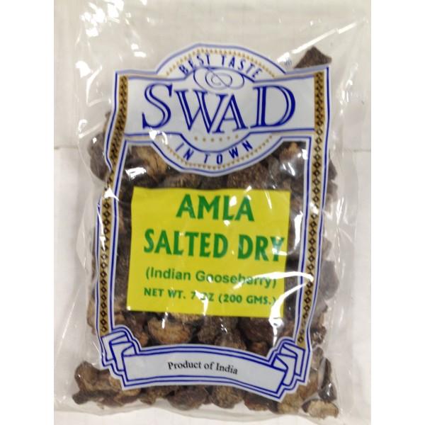 Swad Amla Salted Dry 7 Oz / 200 Gms