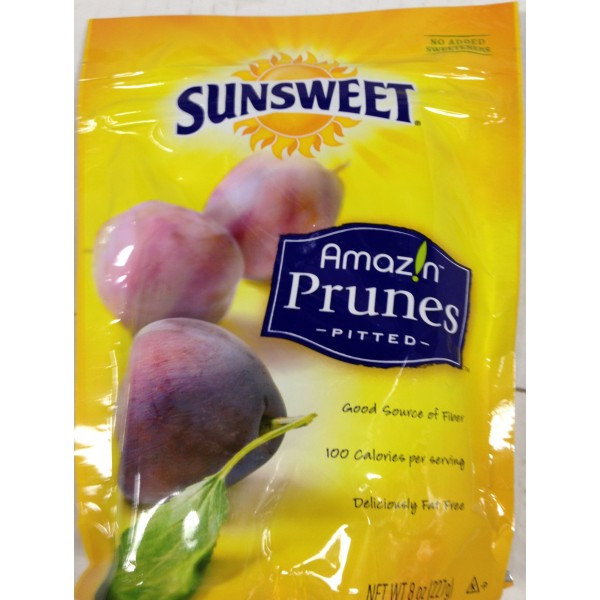 Sunsweet Prunes Pitted 8 Oz / 227 Gms
