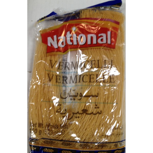 National Vermicelli 6.29 Oz / 178 Gms