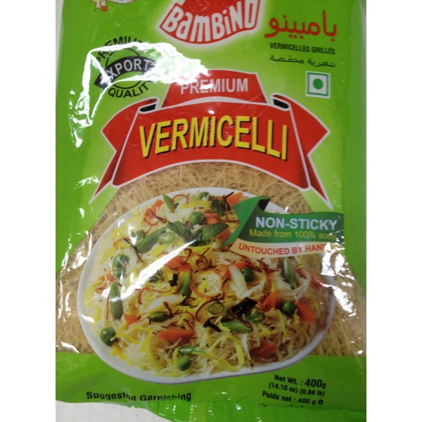Bambind Premium Vermicelli 14 Oz / 400 Gms