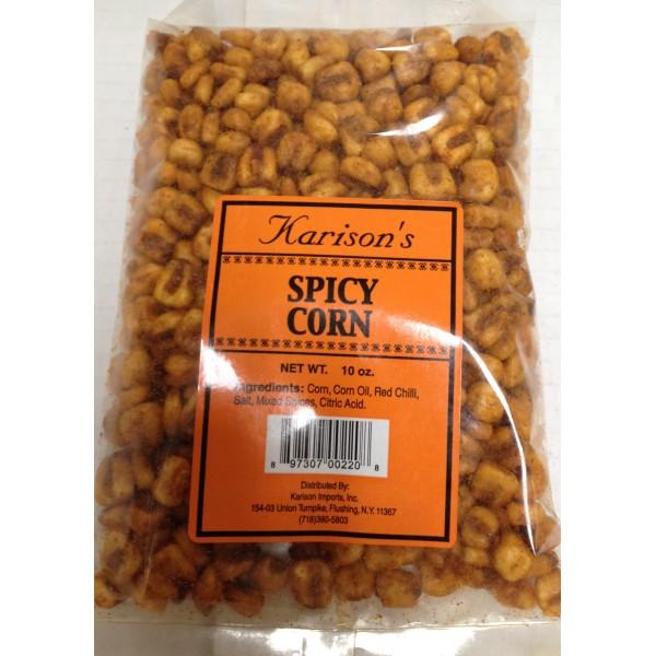 Karison's Spicy Corn 10 Oz / 283 Gms