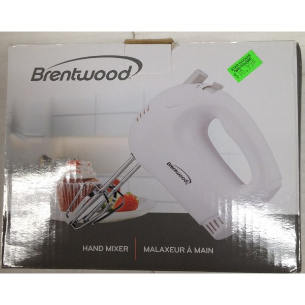 Brentwood Hand Mixer 10 OZ / 300 Gms