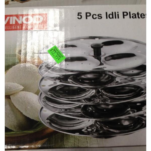 Vinod 5 Pcs Idli Plates 10 oz / 300 Gms