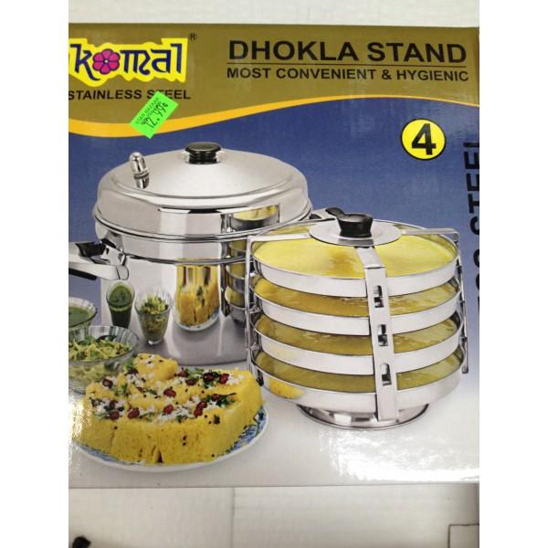 Komal Mutli purpose stand for preparing Idli , Dhokla , Modak,Patra,Muthiy,Kotimbirwadi