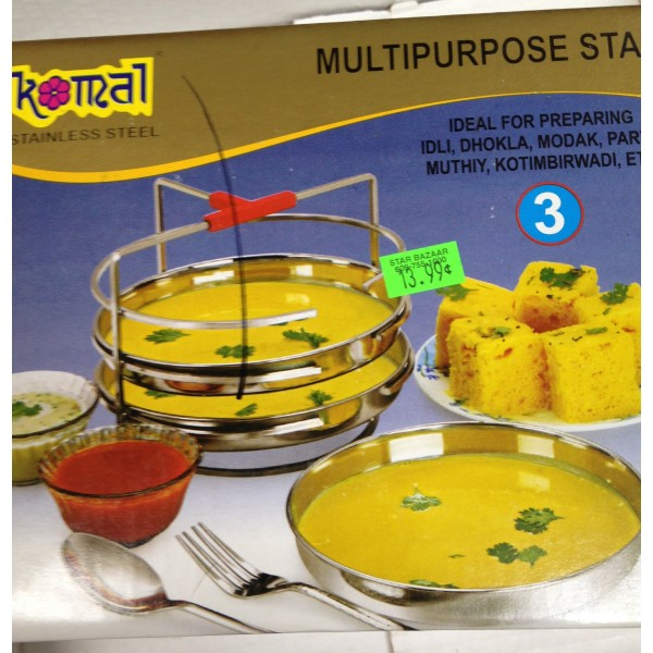 Komal  Non-stick Multi Purpose Mini Idli Plates