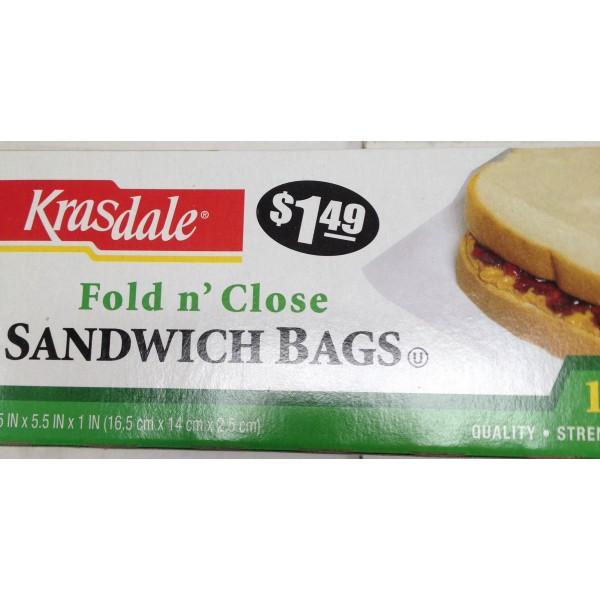 Krasdale Sandwich Bags OZ / Gms