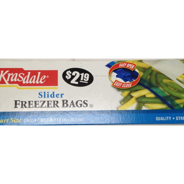 Kradale Freezer Bags OZ / Gms