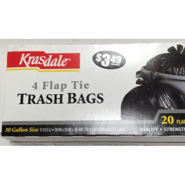 Krasdale Trash Bags 10 OZ / 283 Gms
