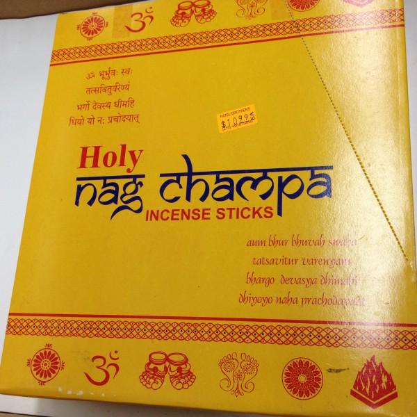 Holy Nag Champa Incense Sticks 5.5 Oz