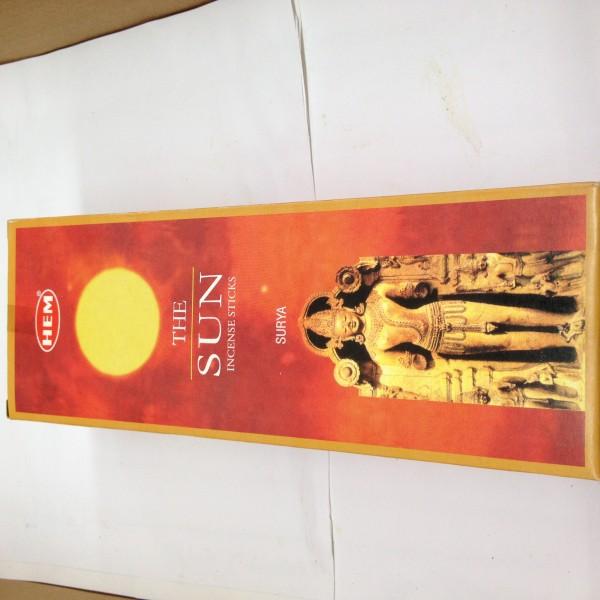 HEM The Sun Incense Sticks 1.76 Oz
