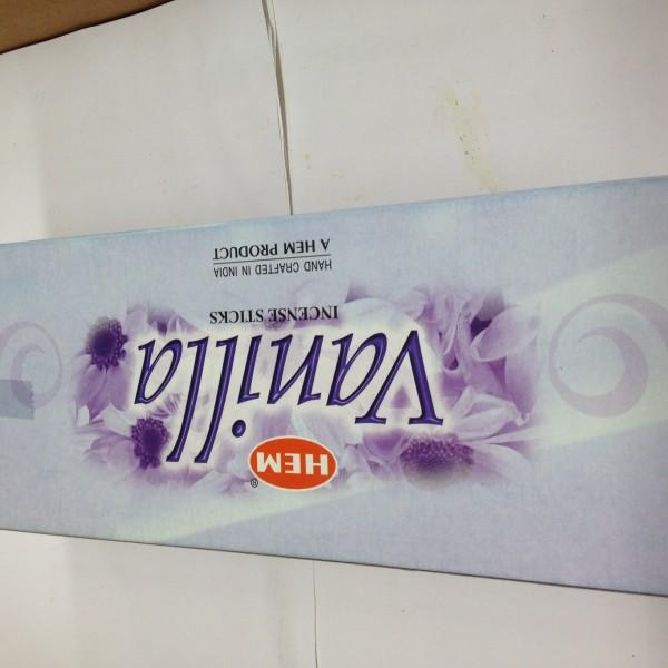 HEM Vanilla Incense Sticks 1.76 Oz