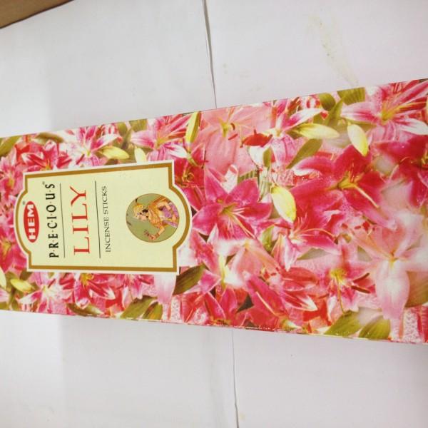 HEM Precious Lily Incense Sticks 1.76 Oz