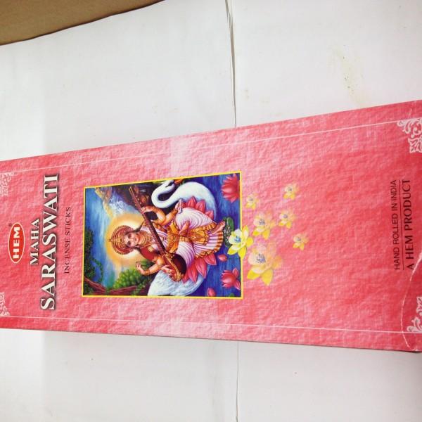 HEM Maha Saraswati Incense Sticks 1.76 Oz