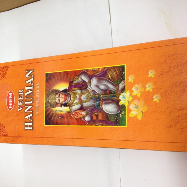 HEM Veer Hanuman Incense Sticks 1.76 Oz