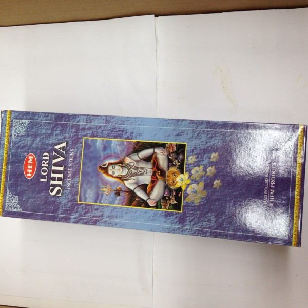 HEM Lord Shiva Incense Sticks 1.76 Oz