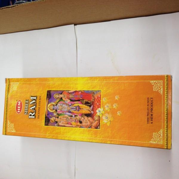 HEM Shree Ram Incense Sticks 1.76 Oz