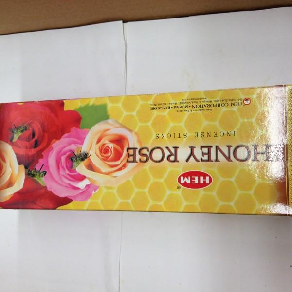 HEM Honey Rose Insence Sticks 1.76 Oz