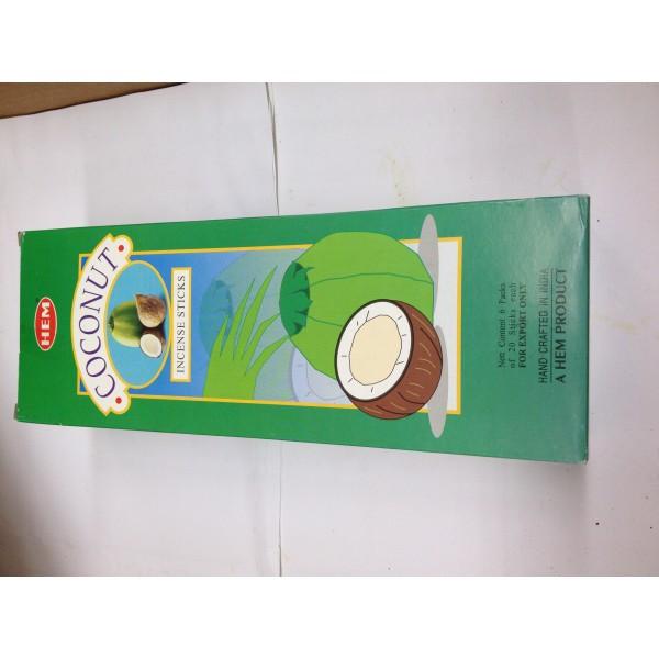 HEM Coconut Insense Sticks 1.76 Oz