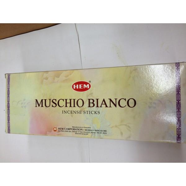 HEM Muschio Bianco Incense Sticks 1.76 Oz