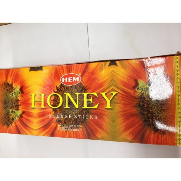 HEM Honey Incense Sticks 1.76 Oz
