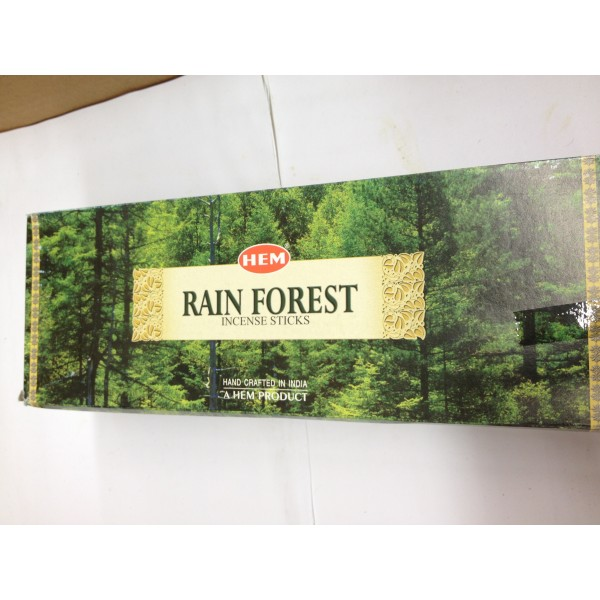 HEM Rain Forest Incense Sticks 1.76 Oz