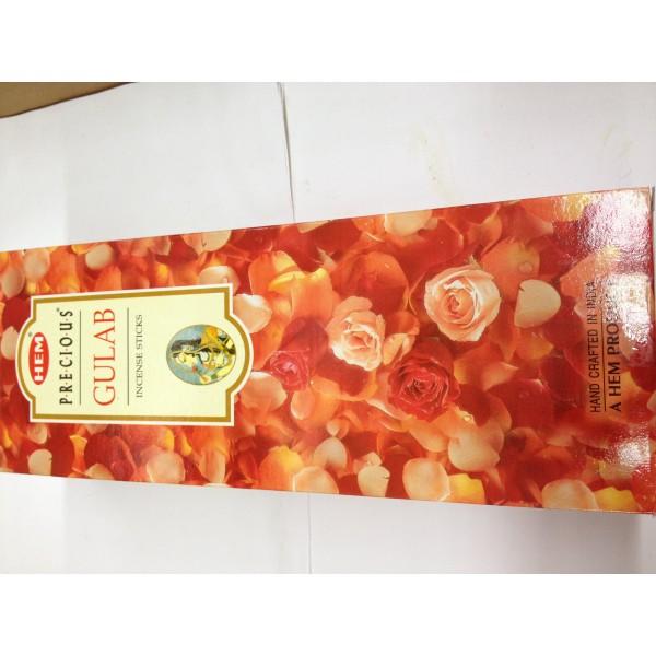 HEM Presious Gulab Incense Sticks 1.76 Oz