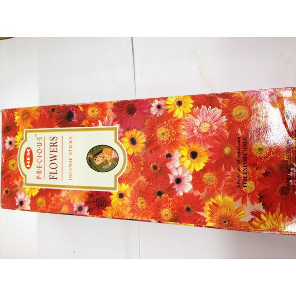 HEM Presious Flowers Incense Sticks 1.76 Oz