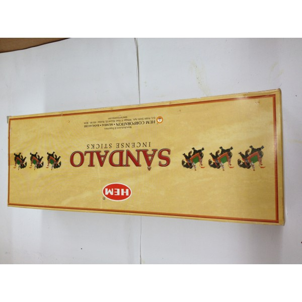 HEM Sandalo Incense Sticks 1.76 Oz