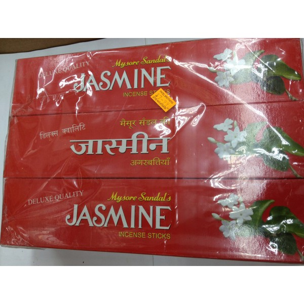 Deluxe Quality Jasmine Incense Sticks 3.75 Oz