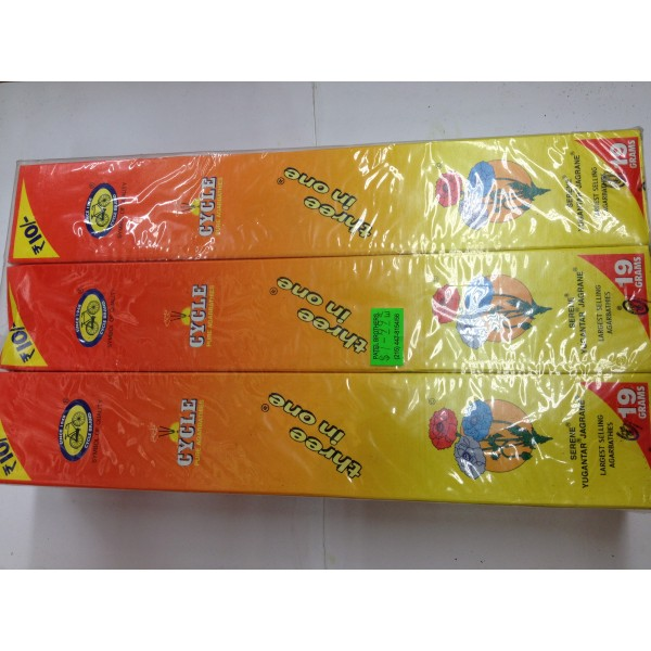 Cycle Three in One Incense Sticks 12 x 19g