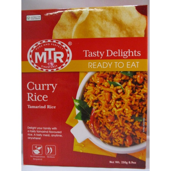 MTR Curry Rice 8.9 OZ /  253 Gms
