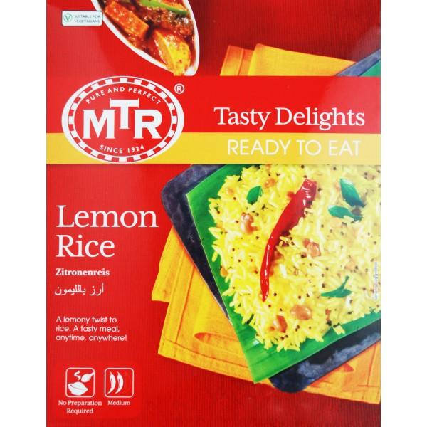 MTR Lemon Rice 8.82 OZ /  250 Gms
