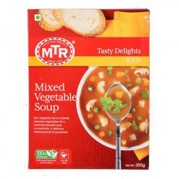 MTR Mix Vegetable Soup 8.82 OZ / 250 Gms