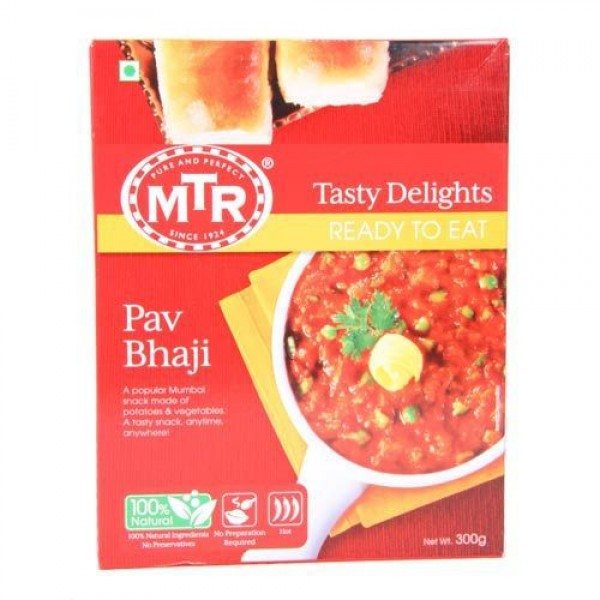 MTR Pav Bhaji (Ready To Eat) 10.5 OZ / 300 Gms