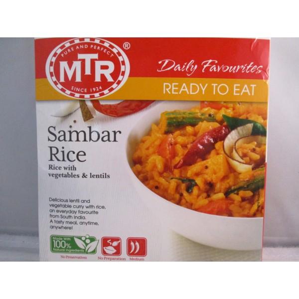 MTR Sambar Rice 10.58 OZ /  300 Gms
