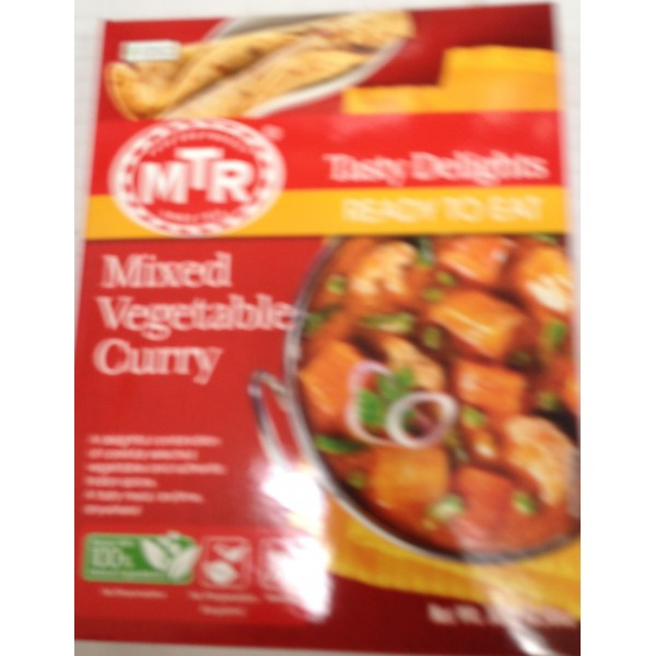 MTR Mixed Vegetable Curry 10.5 Oz / 300 Gms