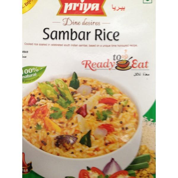 Priya Sambar Rice 10.5 Oz / 300 Gms