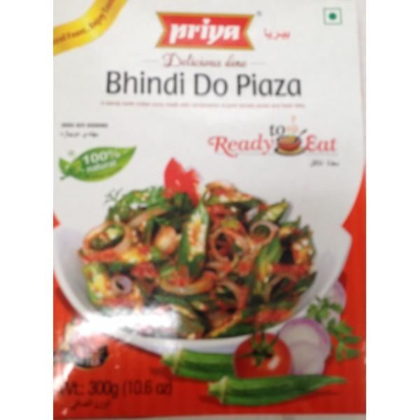 Priya Bhindi Do Piazq 10.5 Oz / 300 Gms