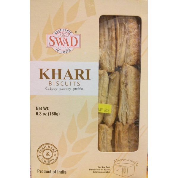 Plain Khari Biscuits 6.3 OZ / 179 Gms