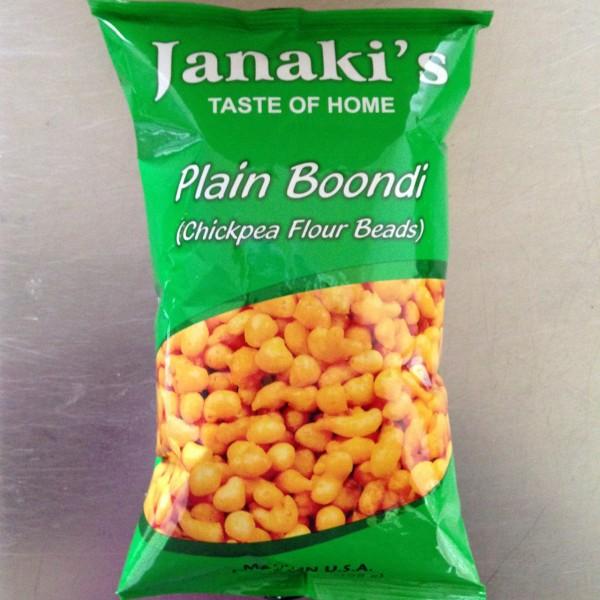 Janaki Plain Boondi 7 OZ / 198 Gms
