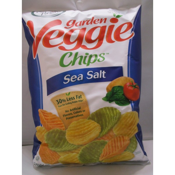 Garden Veggie Chips - Sea Salt 7 OZ / 198 Gms
